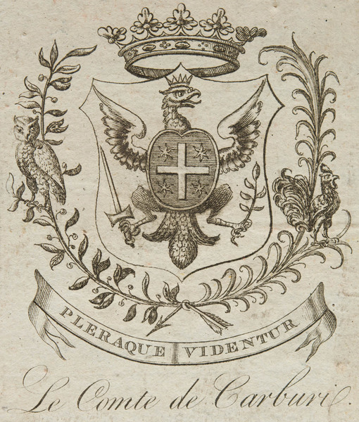 Bookplate of Marco Carburi